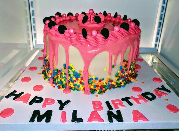 HBD Drip cake