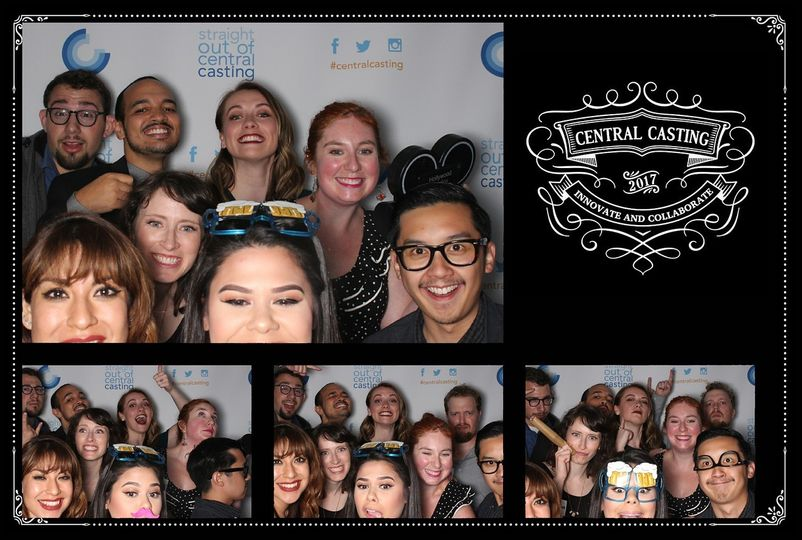 Custom backdrop step and repeat, open air photobooth