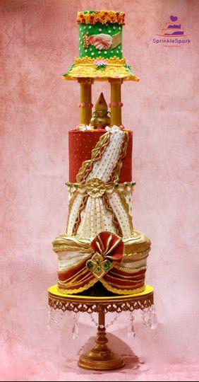 indianweddingcake