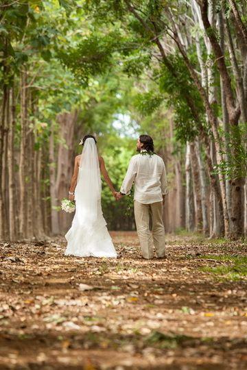 Kauai Forest Wedding