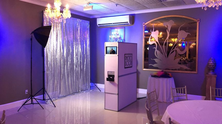 Photo booth set-up