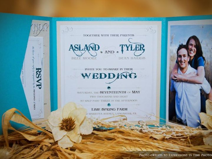 Tmx 1353989886800 Invitesharris1 Lancaster wedding invitation