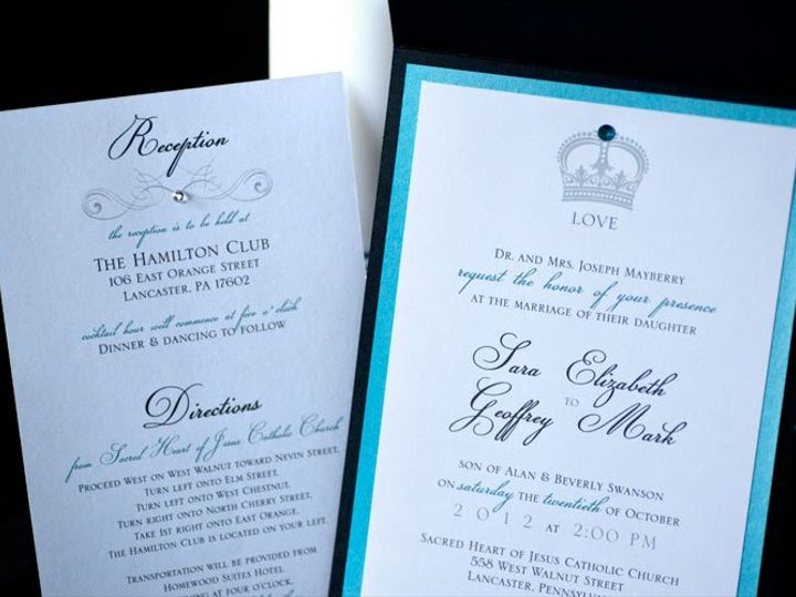 Tmx 1353990221747 Inviteskera8 Lancaster wedding invitation