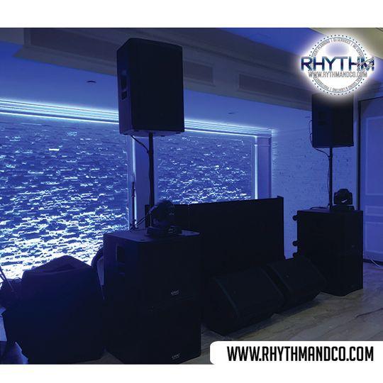 8 Speaker Setup (JBL & QSC)