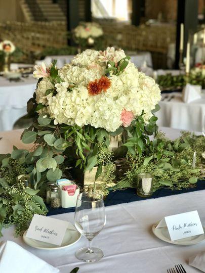 Floral centerpiece design