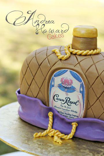 Andrea Howard Cakes Wedding Cake Oklahoma City OK WeddingWire