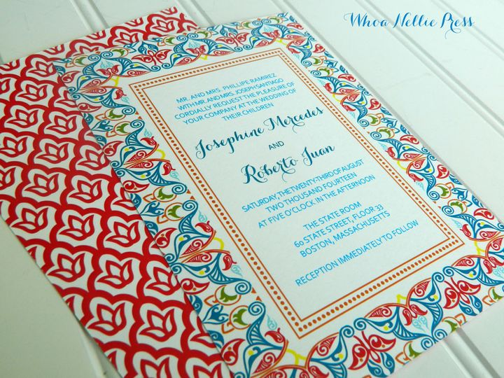 Tmx 1394325712893 New Invitations 131 Averill Park wedding invitation