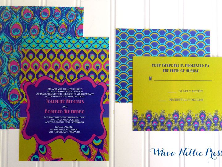 Tmx 1394325728488 New Invitations 044 Averill Park wedding invitation