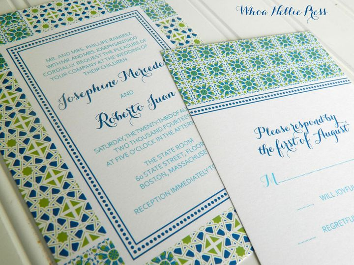Tmx 1394325885954 New Invitations 148 Averill Park wedding invitation