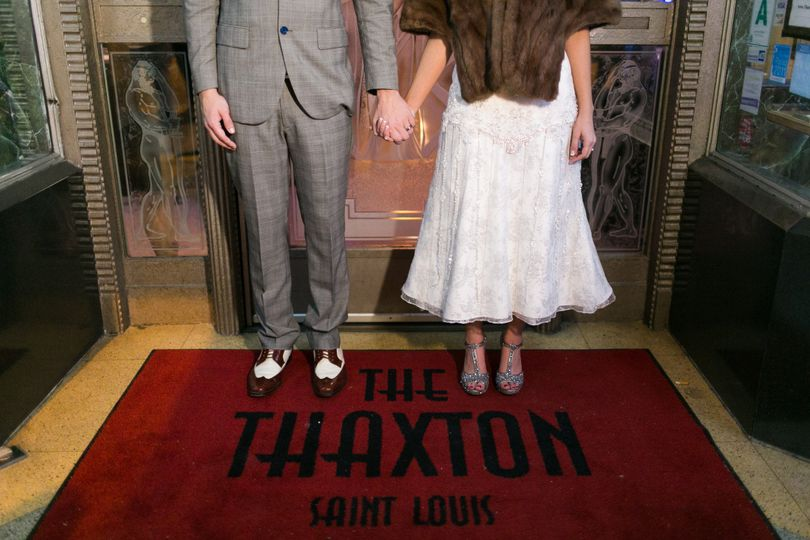 Vintage Couple at The Thaxton