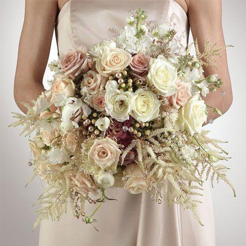 victorian bridal boquet