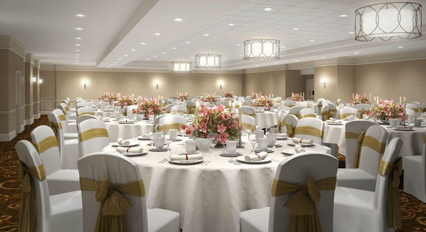 Newly renovated Pinnacle Ballroom