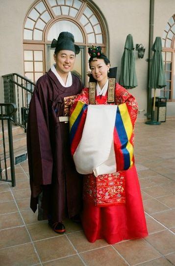 Tea ceremony couple