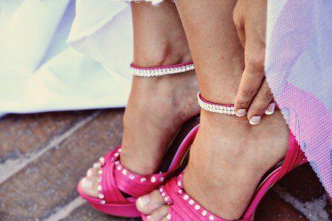 Rhinestone Embellishing Shoes!