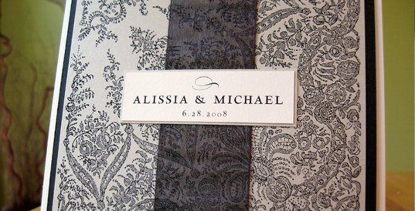 Tmx 1228761871386 W 6 West Chester wedding invitation