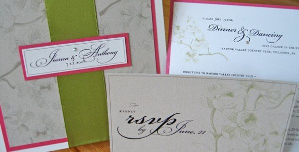Tmx 1228761955214 W 13 West Chester wedding invitation