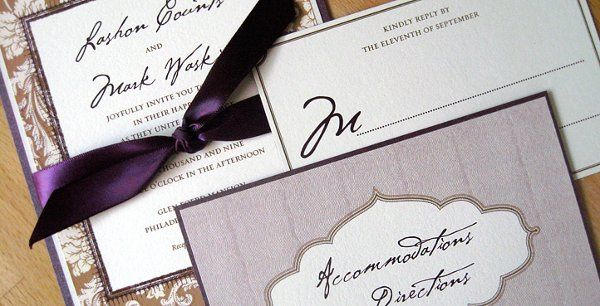 Tmx 1255357666620 W52 West Chester wedding invitation
