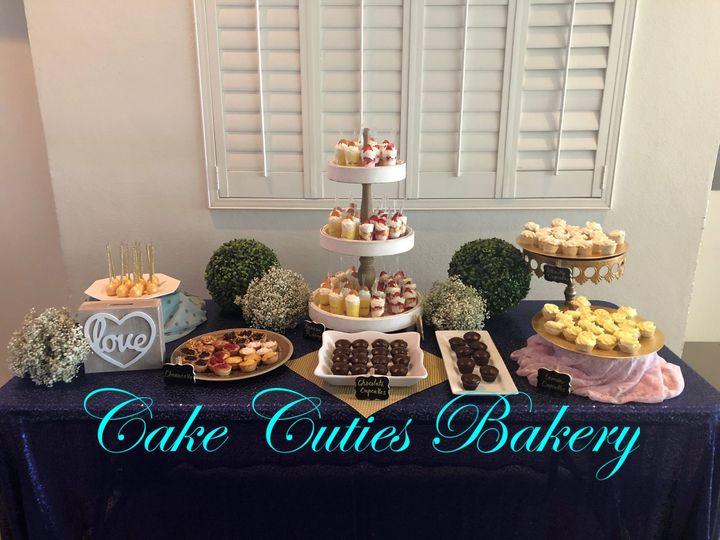 Tmx Dessert Table 51 728814 159287115275506 Tampa, Florida wedding cake