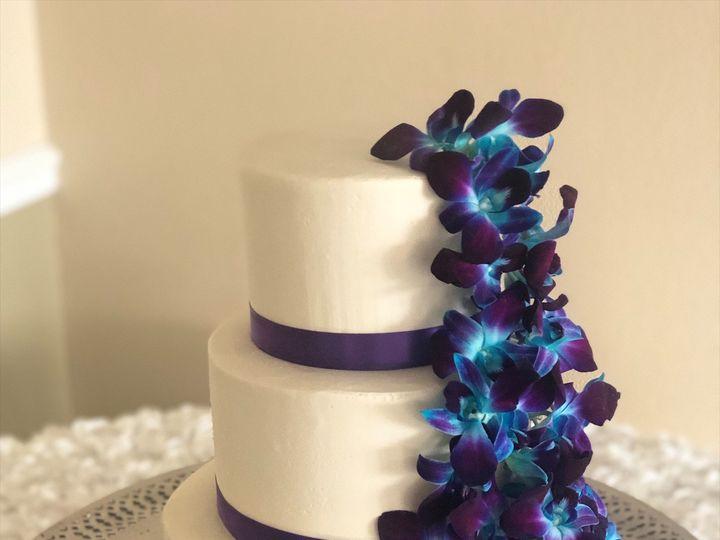 Tmx Purple Orchid Wedding Cake 51 728814 159287238970113 Tampa, Florida wedding cake