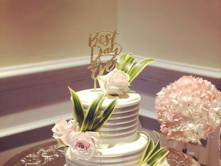 Tmx Soft Pink Roses And Greenery 51 728814 159287242973866 Tampa, Florida wedding cake