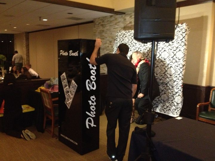 Our photo booths are fun and you get a scrapbook of all photos taken at your event.