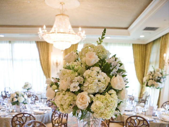 Tmx 1456767669237 White Rose Hydrangea Pedestal Centerpiece Tulsa, Oklahoma wedding florist