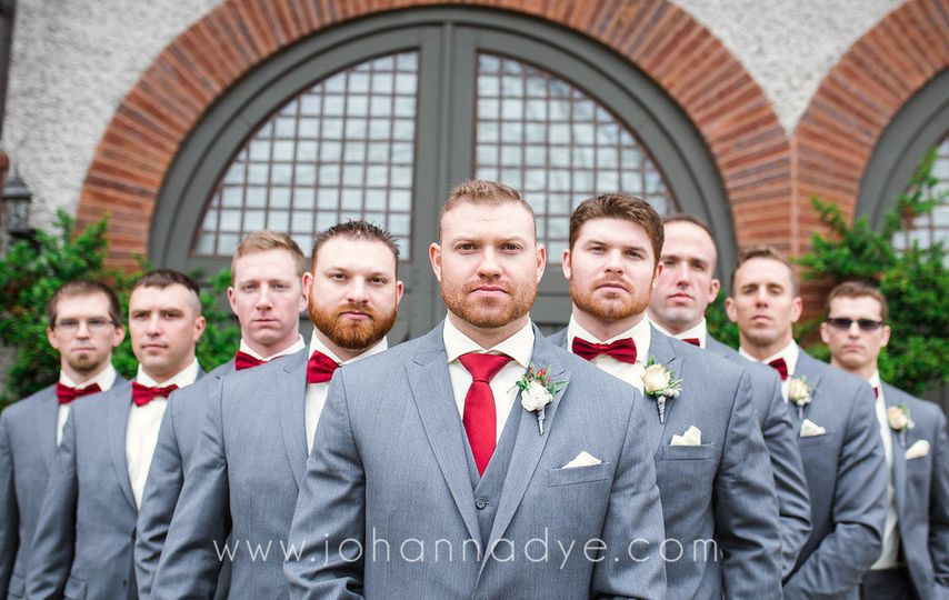 Groomsmen in Asheville, North Carolina