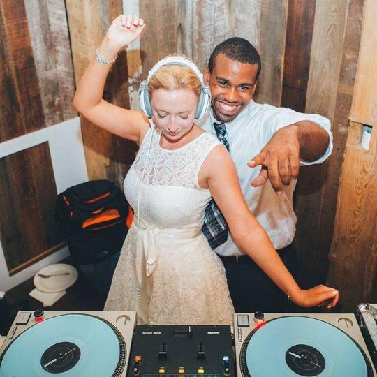 Bride & DJ