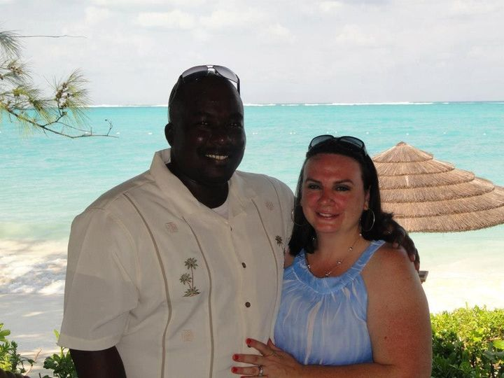 Melinda and Neil at Beaches Turks and Caicos