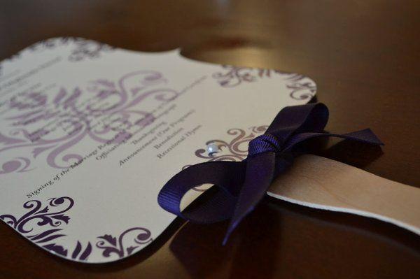 Tmx 1327877815091 PurpleandChampagne Durham wedding invitation