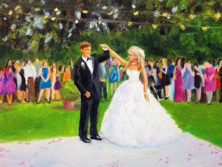 Tmx 1384388246905 Live Event Painting Giselle Vidal Mcmenamin  Stony Point wedding favor