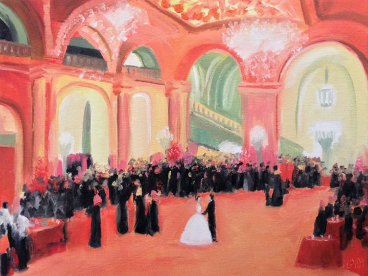 Tmx 1390974994717 Live Event Painting Astor Hall Giselle Vidal Mcmen Stony Point, NY wedding ceremonymusic