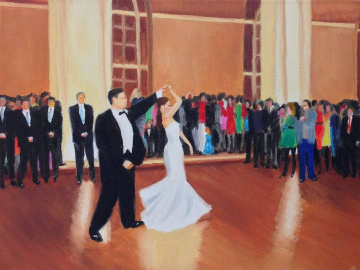 Tmx 1391236011007 Live Event Painting Giselle Vidal Mcmenamin First  Stony Point, NY wedding ceremonymusic