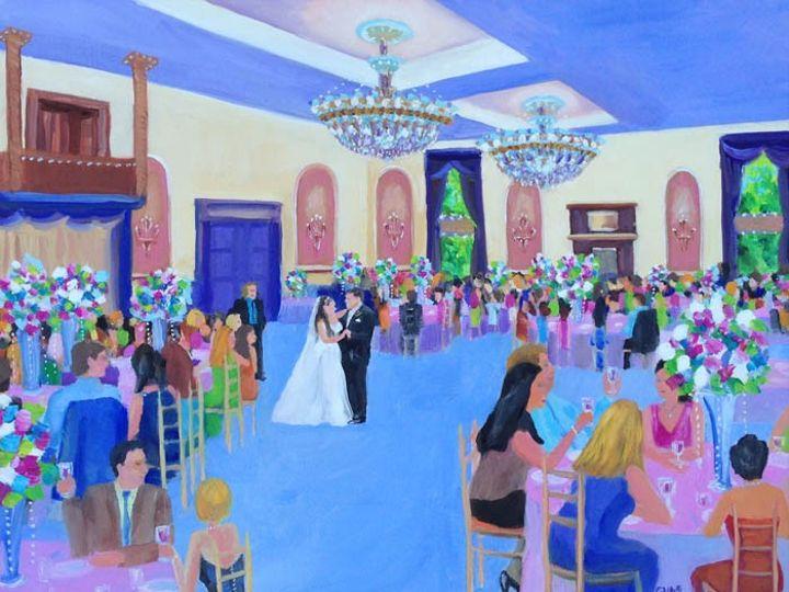 Tmx Florentine Gardens Web G And C Studios Art Giselle Vidal Mcmenamin Live Event Painting Wedding Edited 2 51 653914 158611785690470 Stony Point, NY wedding ceremonymusic