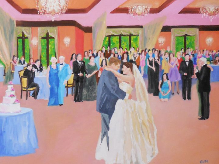 Tmx Wedding Reception Painting Fodero 51 653914 158611792372685 Stony Point wedding favor