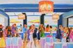 EVENT PAINTING BY GISELLE image