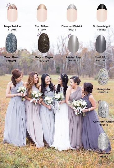 Bridal party options