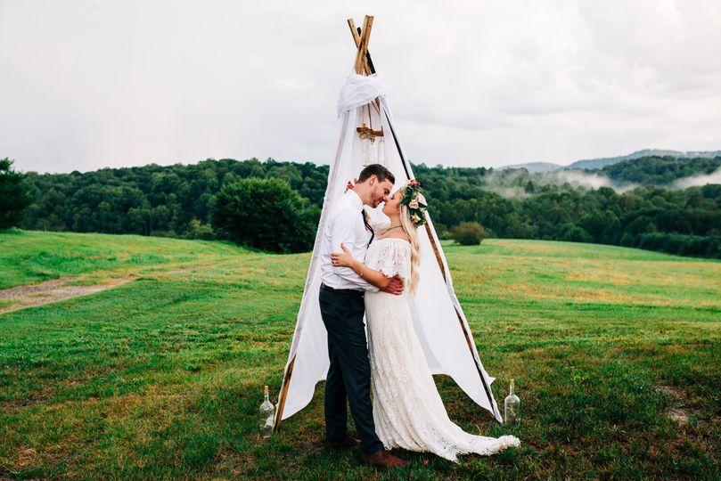 Boho NC Wedding