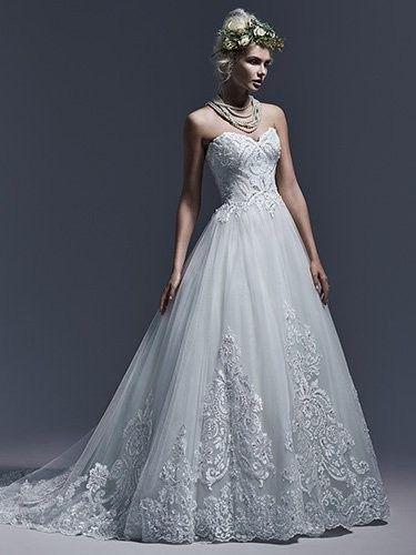 Tmx 1486694437987 Sottero And Midgley Dawnelle 5sw623 Front Medford, MA wedding dress