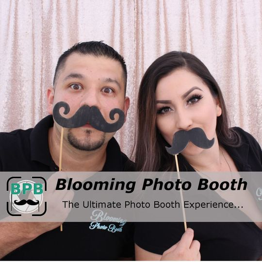 Blooming Photo Booth