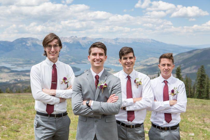 Keystone groomsmen