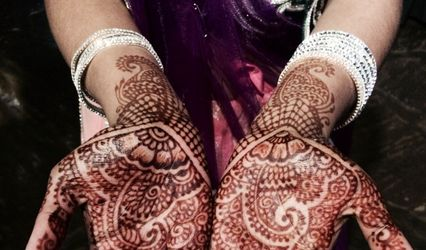 Blue Lotus Mehndi