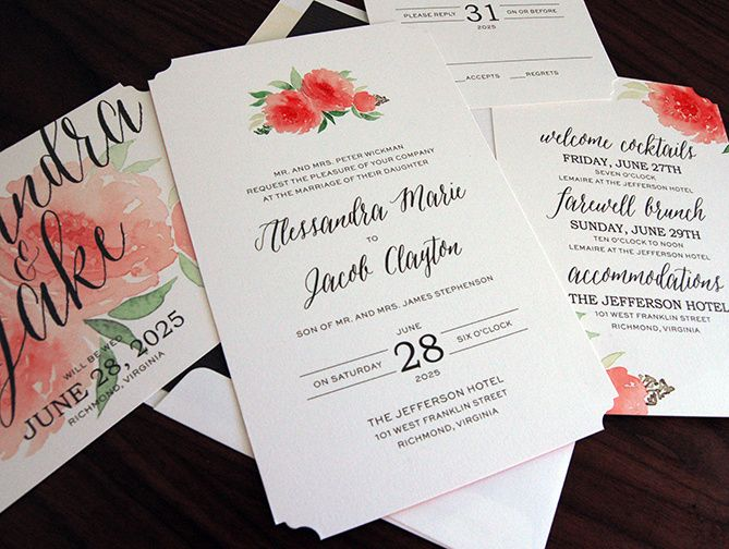 everlasting romantique invitation dtl 51 383024