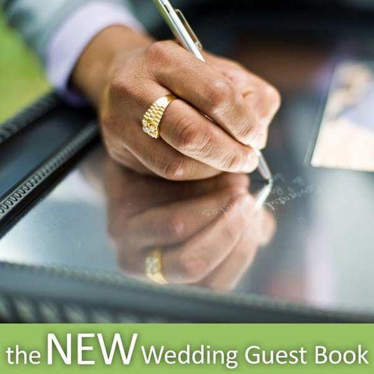 """I Do"" Engravables Guest Book"