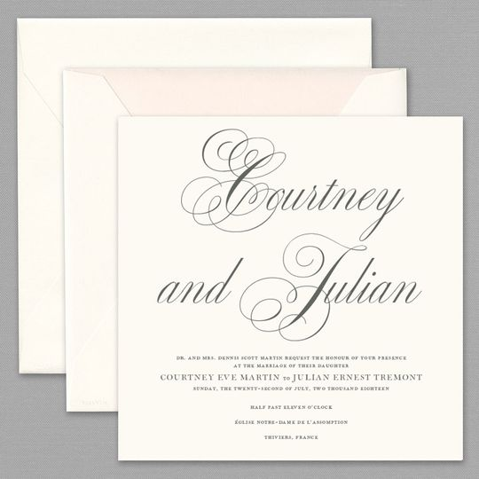 Apropos invitations greenville de weddingwire 800x800 1467832658737 vera wang wedding invitation stopboris Image collections