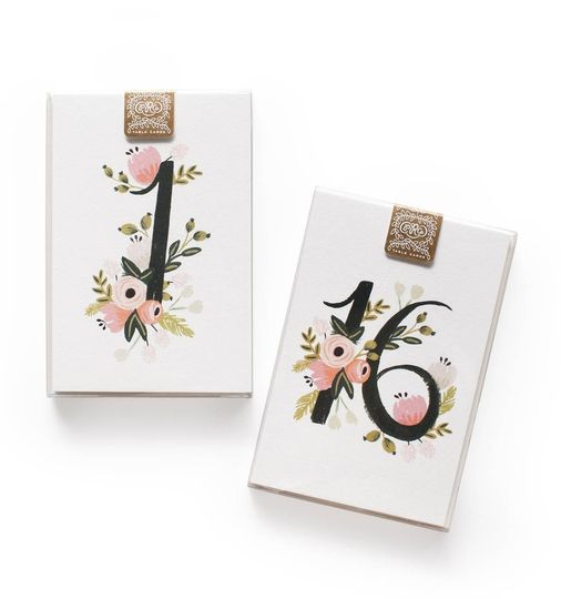 botanical everyday table numbers 013