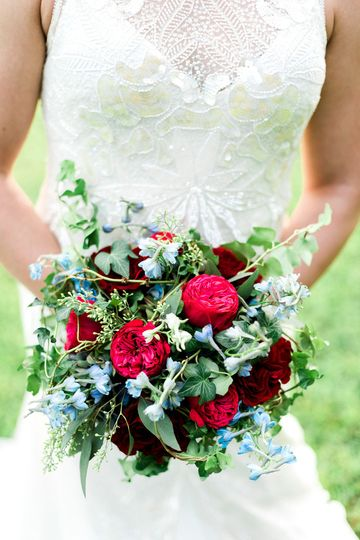 Bridal bouquet | Photograph by Jared Ladia