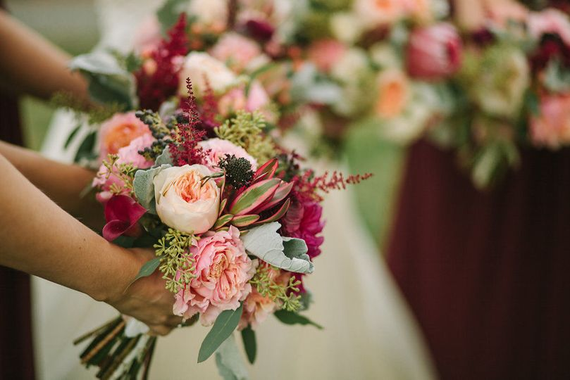 Wedding bouquets | Jared Ladia Photography