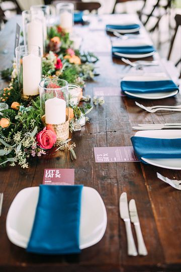 Table setting | Jared Ladia Photography