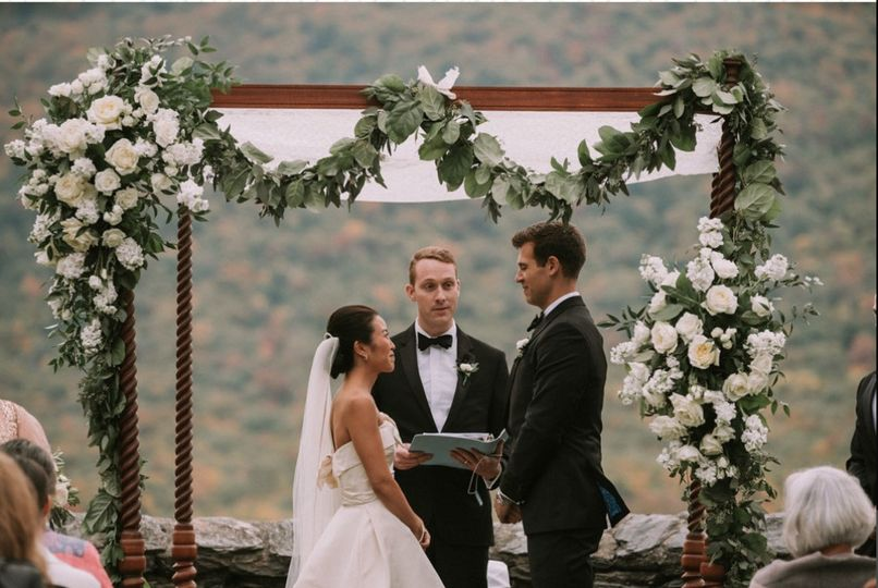 All White Ceremony